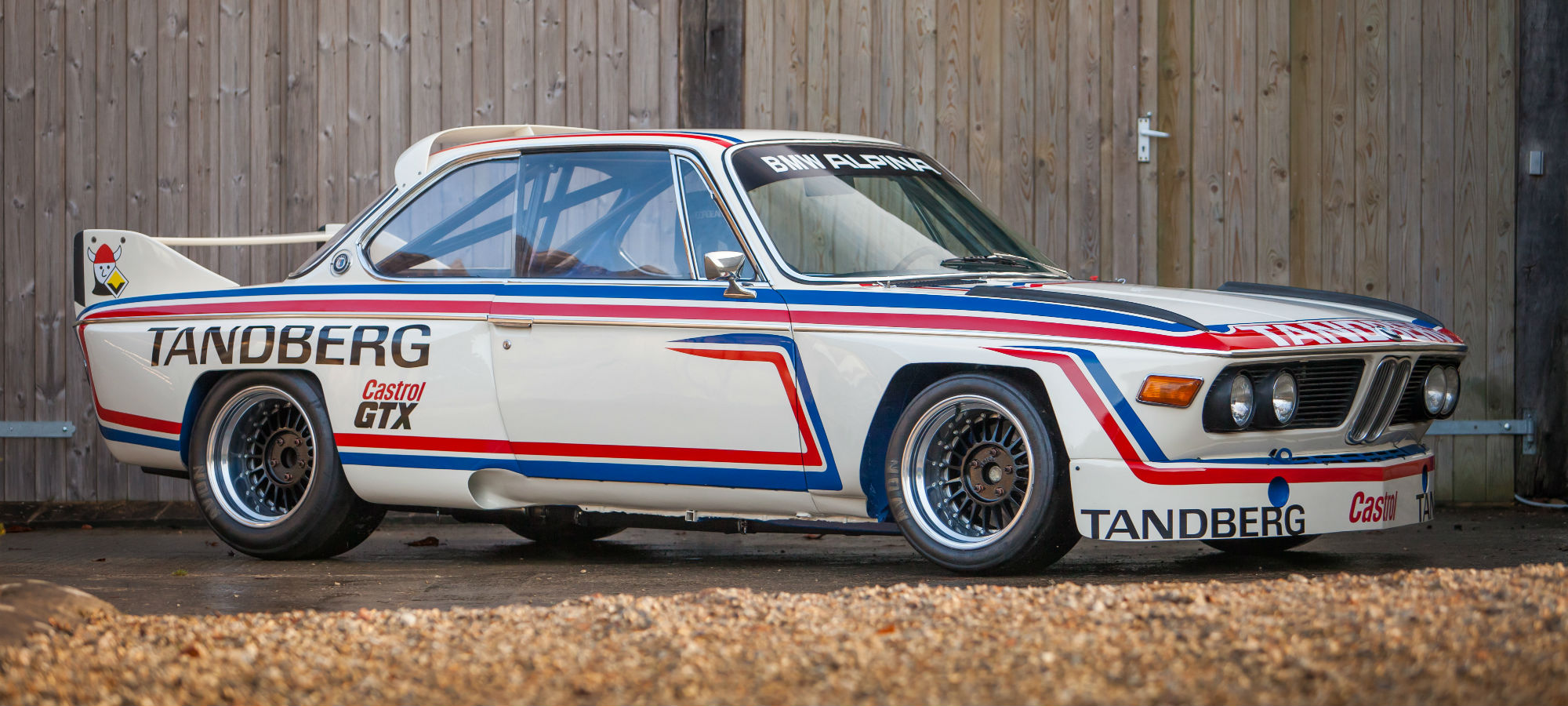 The Ex-Alpina Works, Multiple Championship Winning 1969 BMW 2800CS upgraded in 1974 to Alpina 3.0 CSL Group 2