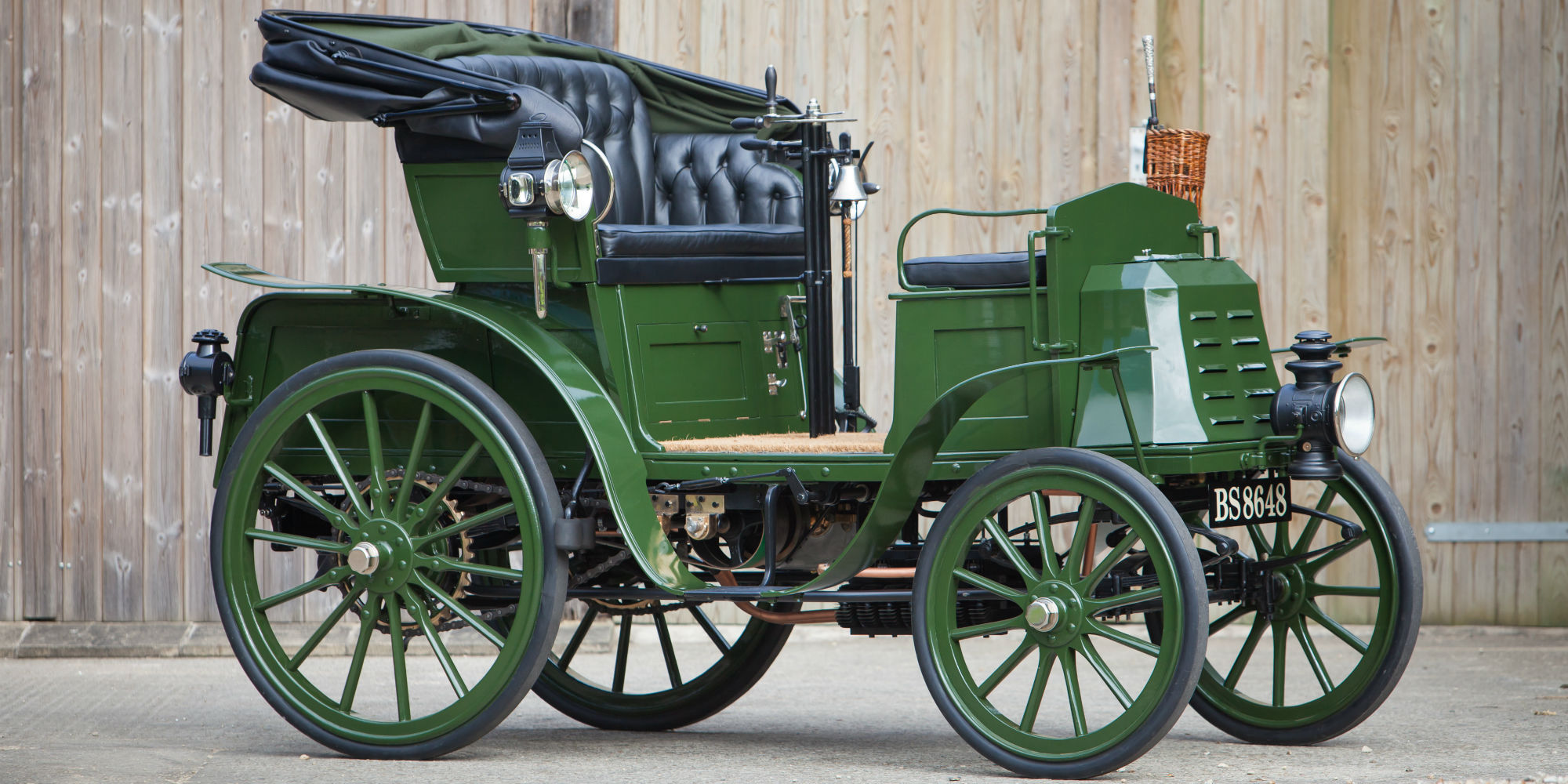 1901 Benz Ideal 7hp Twin Cylinder 'Contra-Motor'