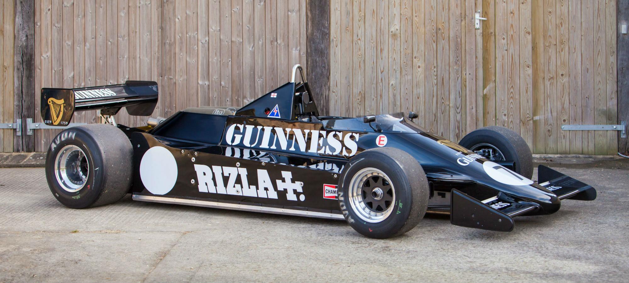 The Ex-Derek Daly March 811 Formula 1
