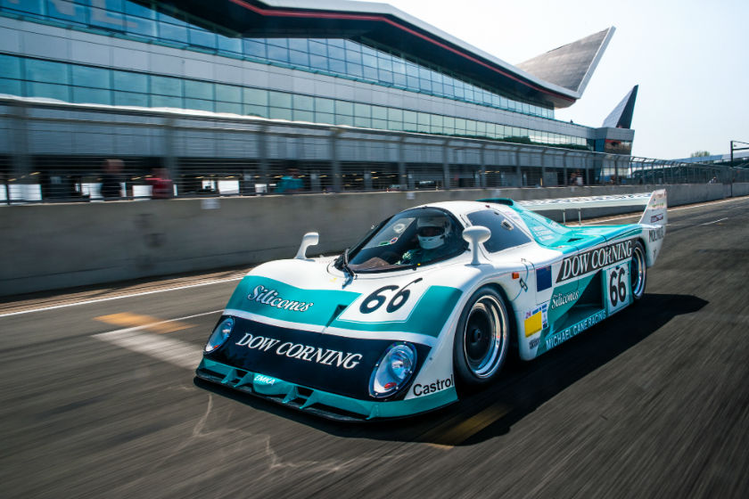 EMKA Aston Martin Group C