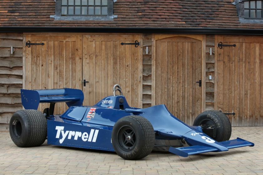 Tyrrell 010 Formula 1 For Sale
