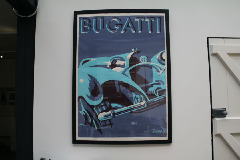 Bugatti Poster For Sale