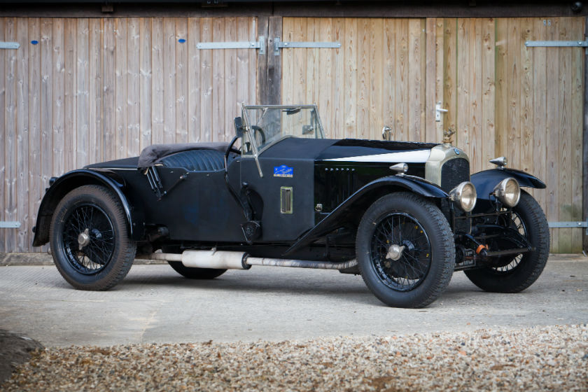The Ex-Clive Windsor-Richards Brooklands Record Holding 1925 Vauxhall 30-98 For Sale