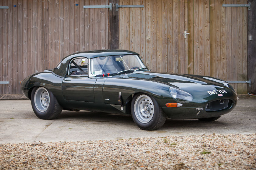 1961 Jaguar E-Type 'Flat Floor' to FIA Semi Lightweight Specification For Sale