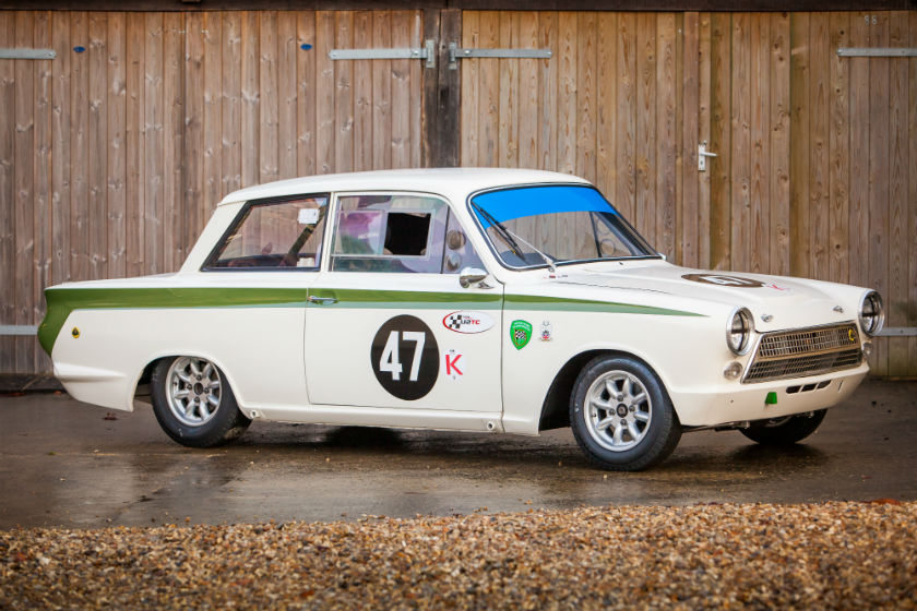 The Leo Voyazides / Simon Hadfield Lotus Cortina For Sale