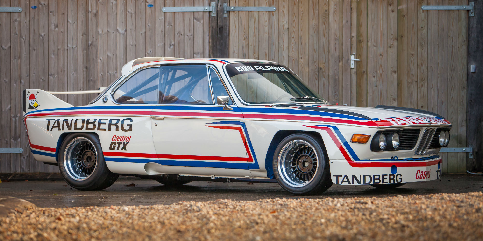 The Ex – Alpina Works, Multiple Championship Winning 1969 BMW 2800CS, Upgraded in 1974 to Alpina 3.0 CSL Group 2
