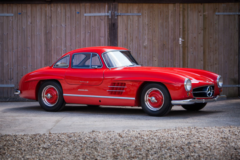 Mercedes 300 SL Coupe Gullwing For Sale at William I'Anson ltd