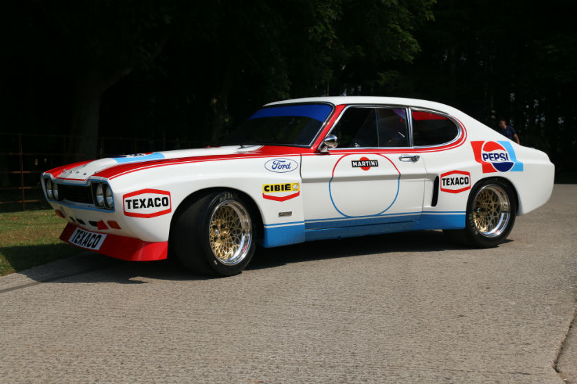 1973 Ford Capri RS2600 to FIA Group 2 Specification Sold by William I'Anson Ltd