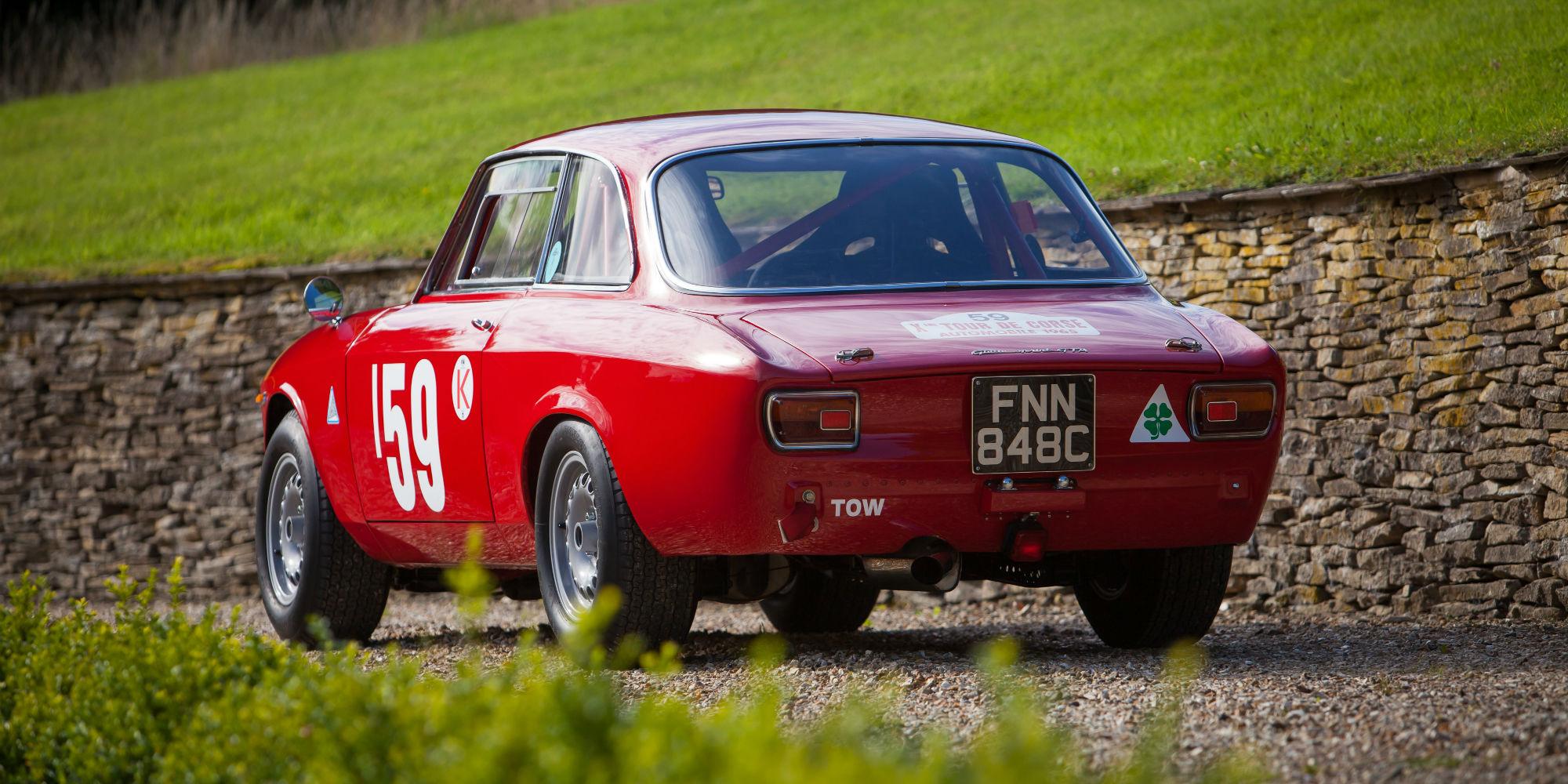 Alfa Romeo GTA 1600 to 1965 FIA Appendix K Specification