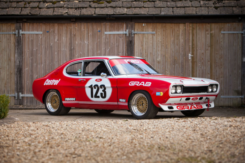 Ford Capri to FIA RS2600 Group 2 Specification For Sale at William I'Anson Ltd