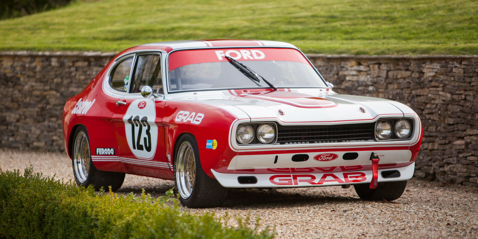 Ford Capri to FIA RS2600 Group 2 Specification