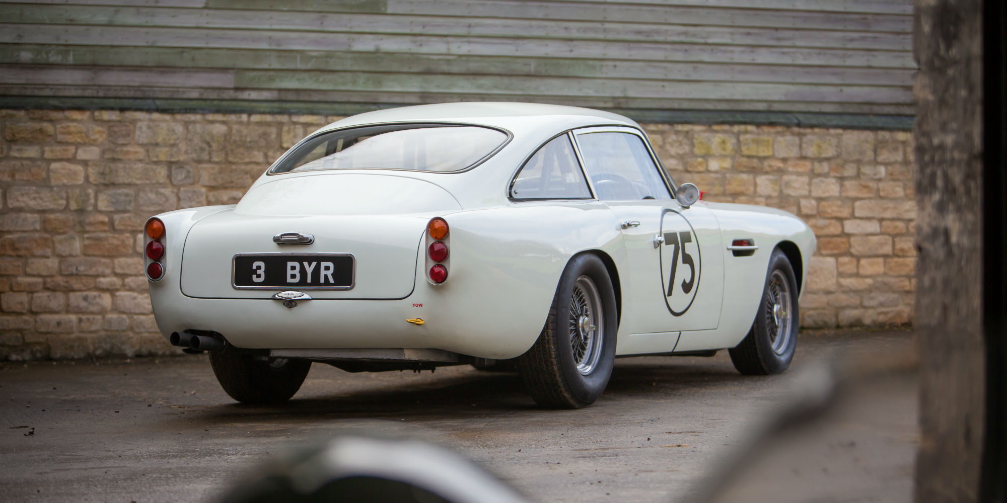3 BYR, The Ex – Ian Moss 1961 Aston Martin DB4 to FIA Appendix K Specification