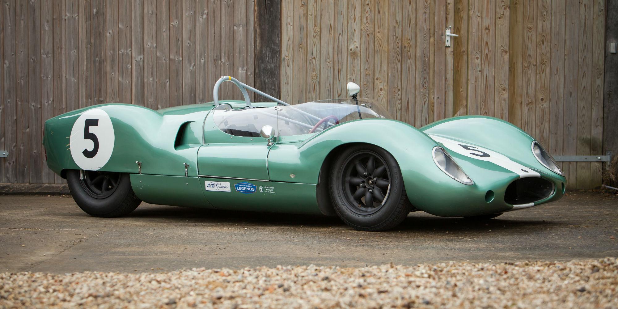The Ex – Sir Stirling Moss, Bib Stillwell, 'Coil Sprung' 1959 Cooper T49 'Monaco'