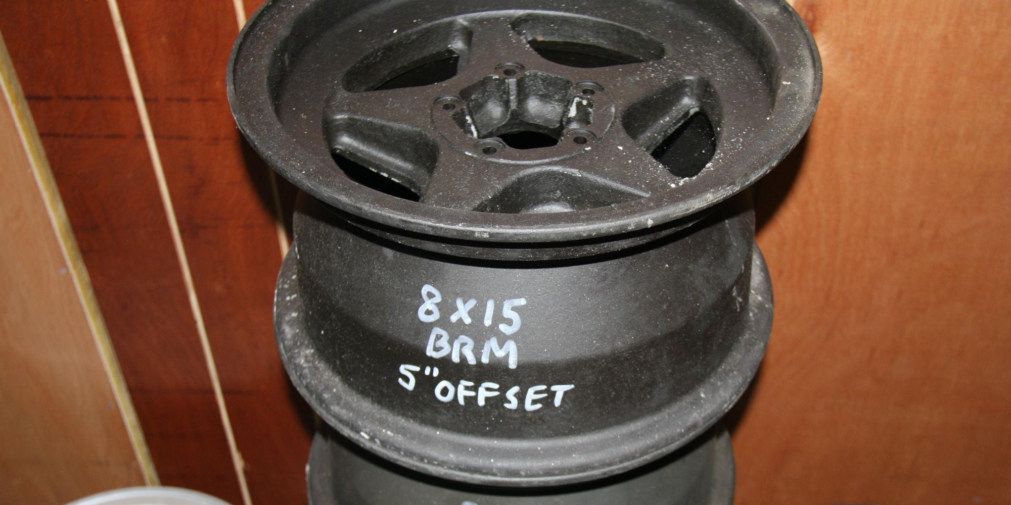 BRM 8″ Wheels