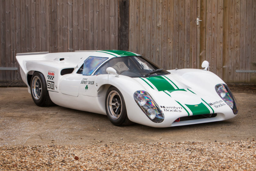 The Sid Taylor Racing, ex- Brian Redman, Denny Hulme, Frank Gardner, Peter Revson 1969 Lola T70 Mk3B For Sale at William I'Anson Ltd