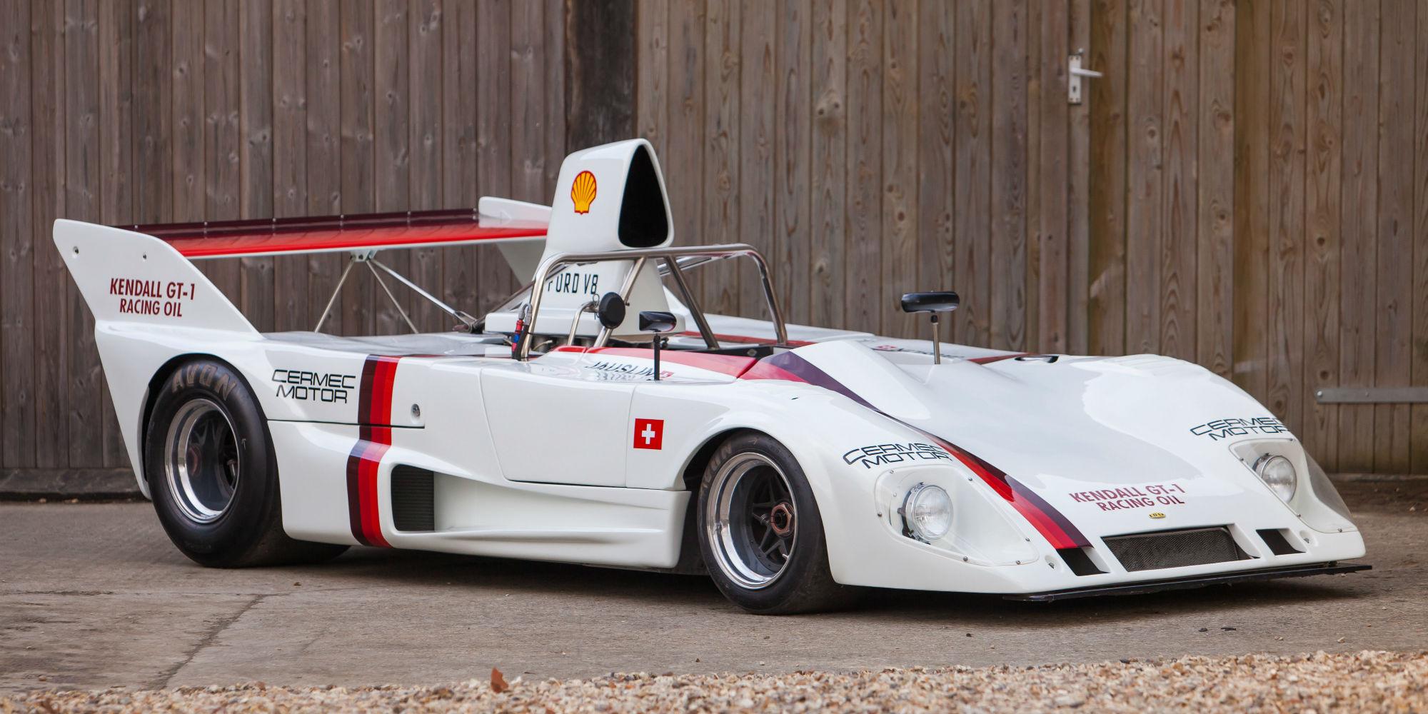 The Ex – Walter Lehmann, Ruedi Jauslin, Rosso Bianco Collection 1973 Lola T292 DFV