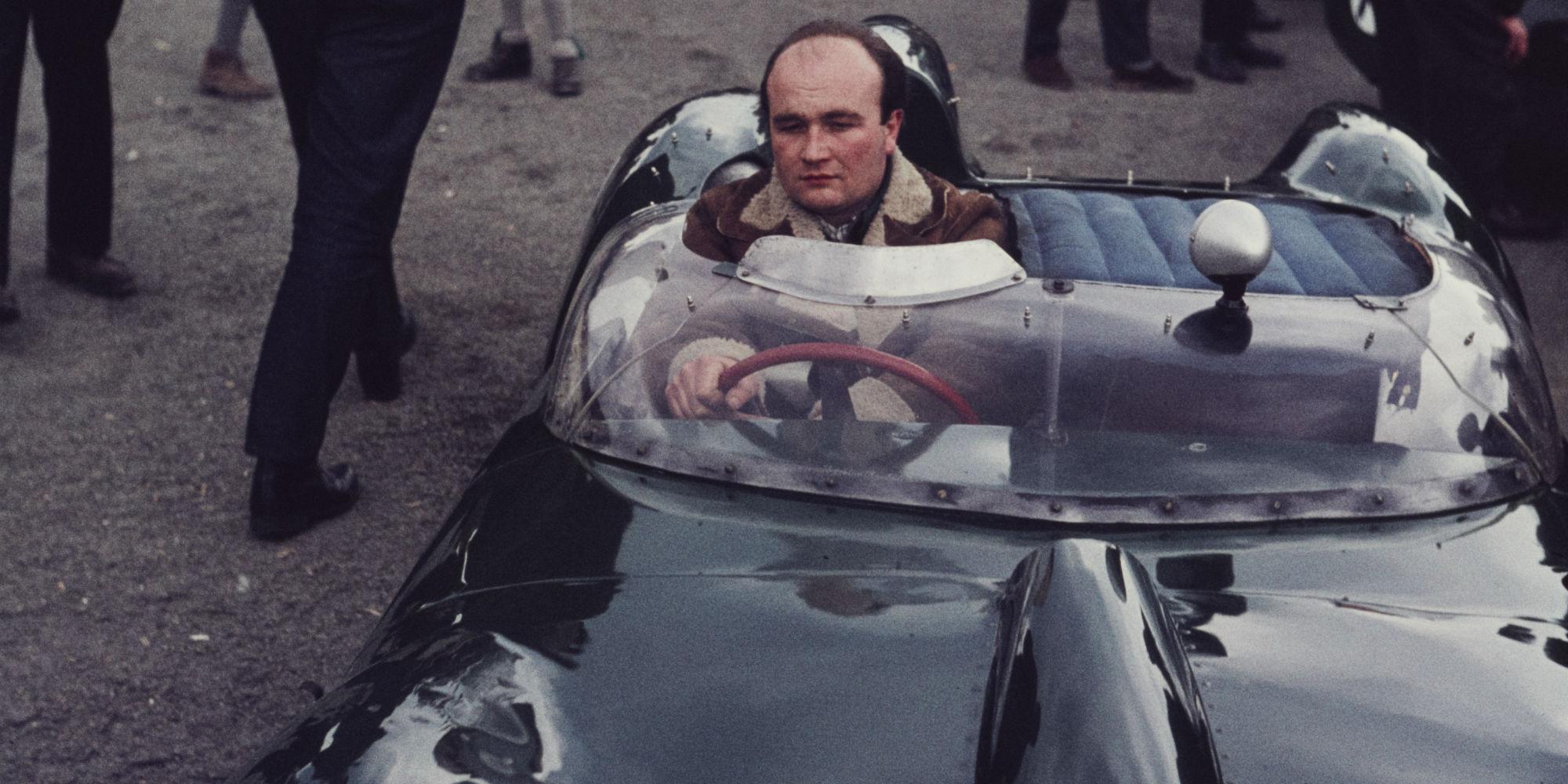 The Ex – Works, Graham Hill, David Piper 1958 Lotus 15