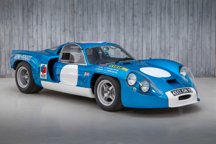 The Ex - Works, Two Time Le Mans Veteran 1968 Alpine A220 For Sale at William I'Anson Ltd.