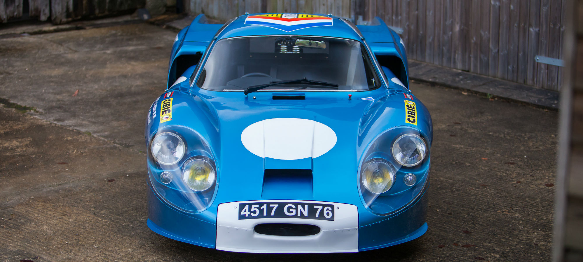 The Ex - Works, Two Time Le Mans Veteran 1968 Alpine A220
