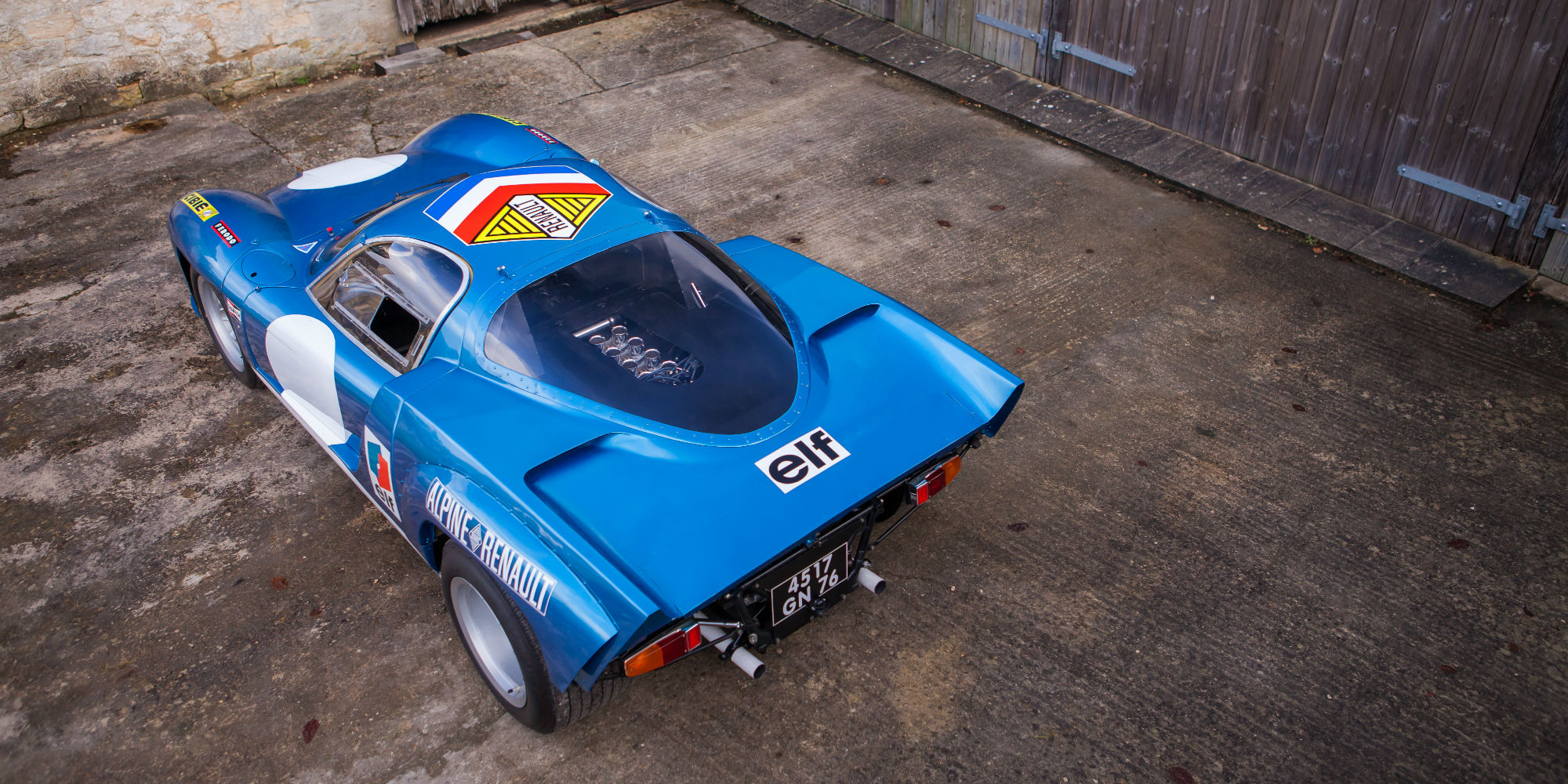 The Ex – Works, Two Time Le Mans Veteran 1968 Alpine A220