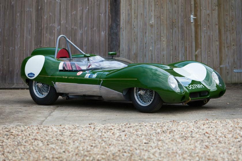 The Ex - Works, Graham Hill, David Piper 1958 Lotus 15