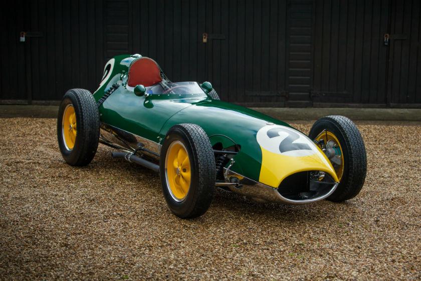 The Ex - Jim Clark, Graham Hill, Bruce Halford 1958 Lotus 16