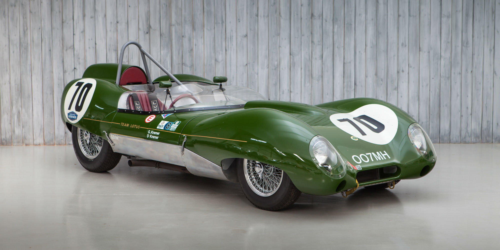 The Ex – Works, Cliff Allison, David Piper 1958 Lotus 15