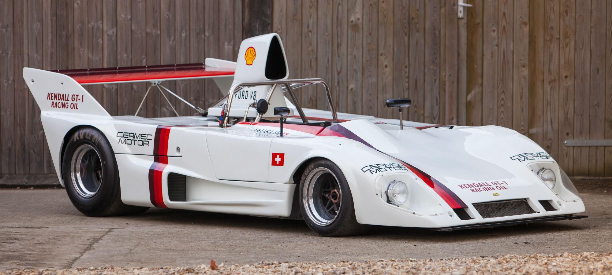 The Ex - Walter Lehmann, Ruedi Jauslin, Rosso Bianco Collection 1973 Lola T292 DFV