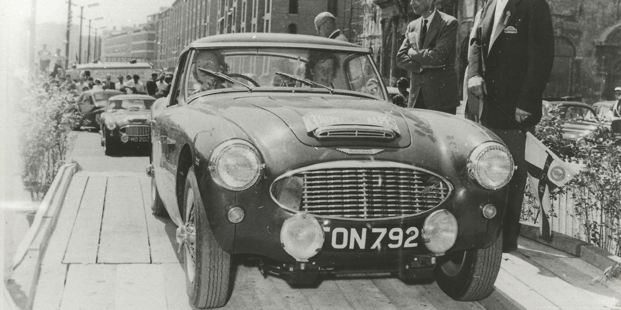 The Ex – Works Rally Team, Le Mans, 'The Chairman's Car' 1956 Austin Healey 100/6