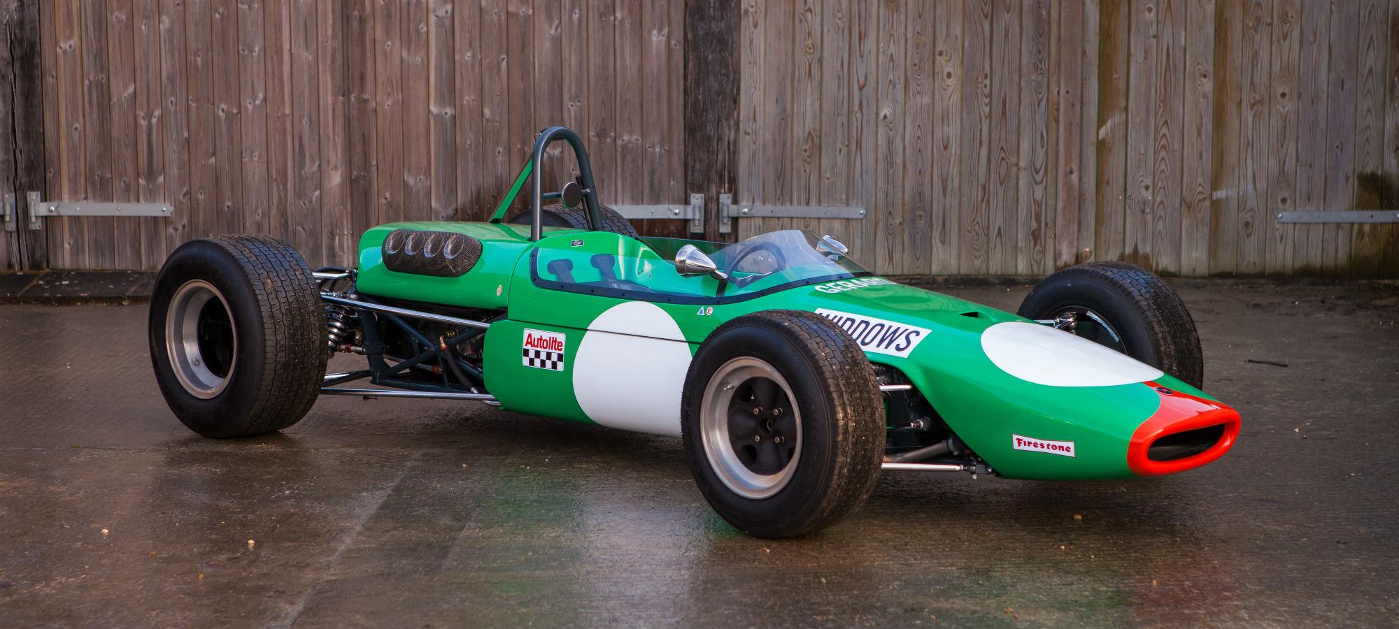 The Ex - Bob Gerard Racing, Robin Widdows, Brian Hart, Multiple Race Winning 1968 Brabham BT23C Formula 2
