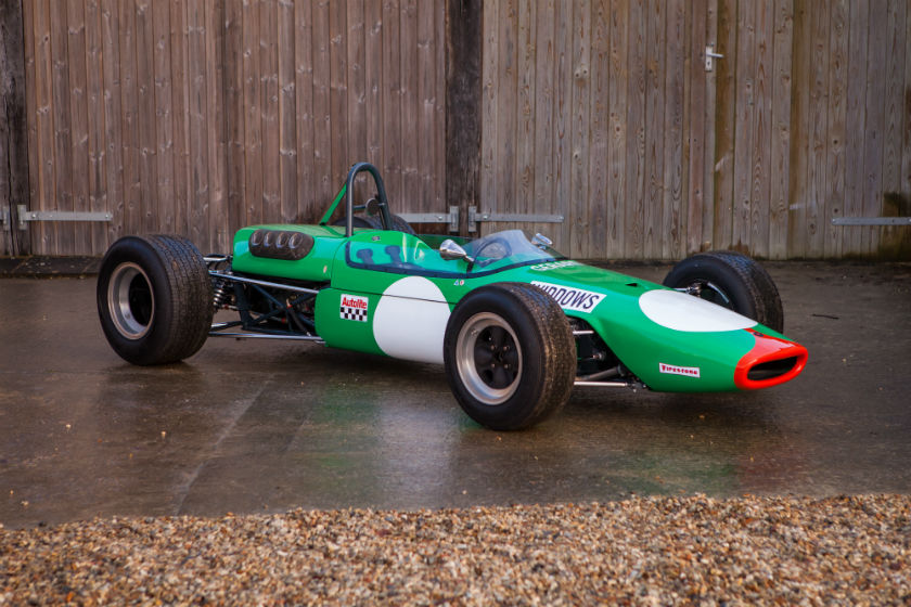 The Ex - Bob Gerard Racing, Robin Widdows, Brian Hart, Multiple Race Winning 1968 Brabham BT23C F2 For Sale at William I'Anson Ltd