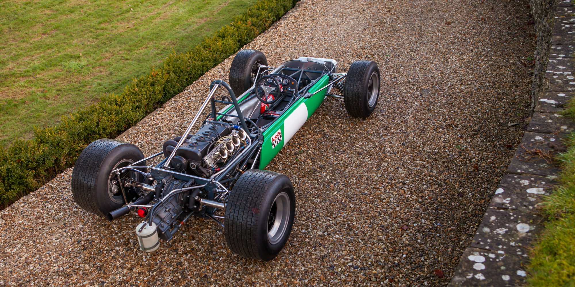 The Ex – Bob Gerard Racing, Robin Widdows, Brian Hart, Multiple Race Winning 1968 Brabham BT23C Formula 2