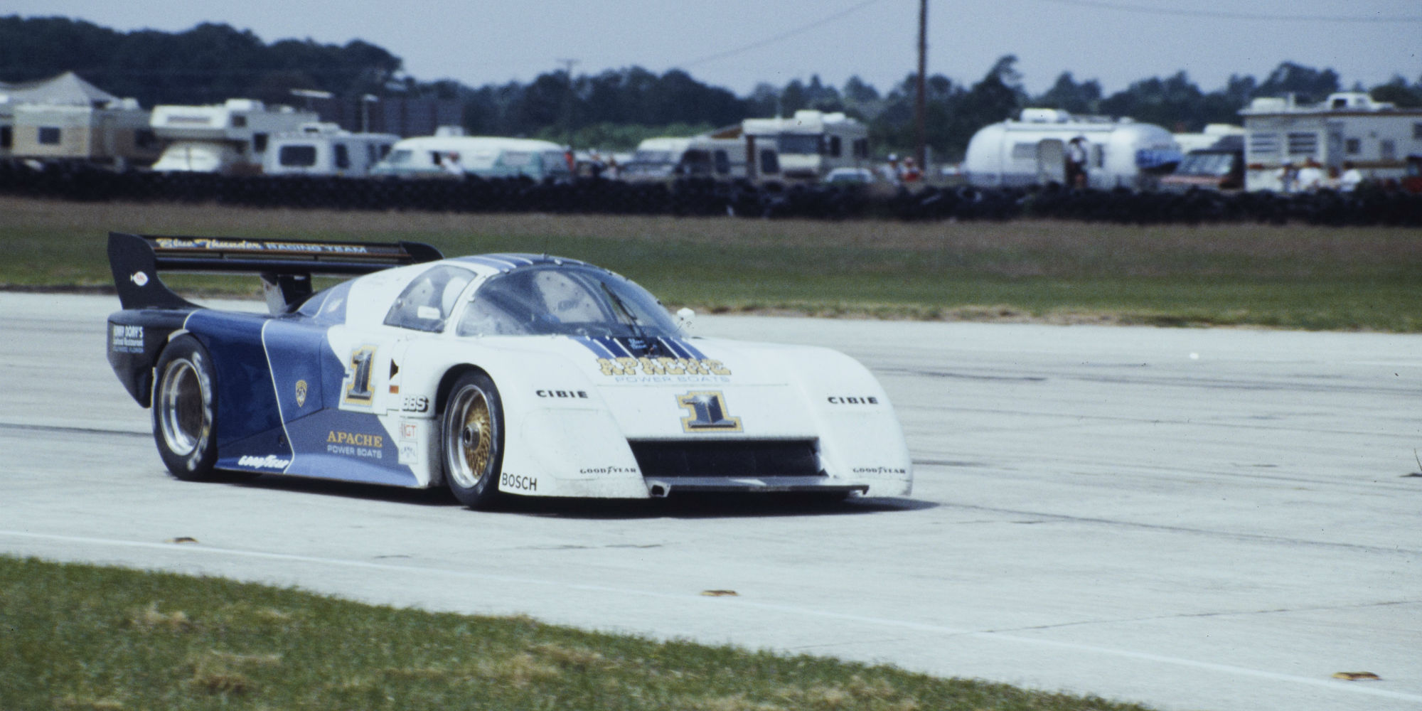 The 1984 IMSA Championship Winning, Blue Thunder, Ex – Randy Lanier, Bill Whittington, Emerson Fittipaldi 1984 March 84G Chevrolet GTP