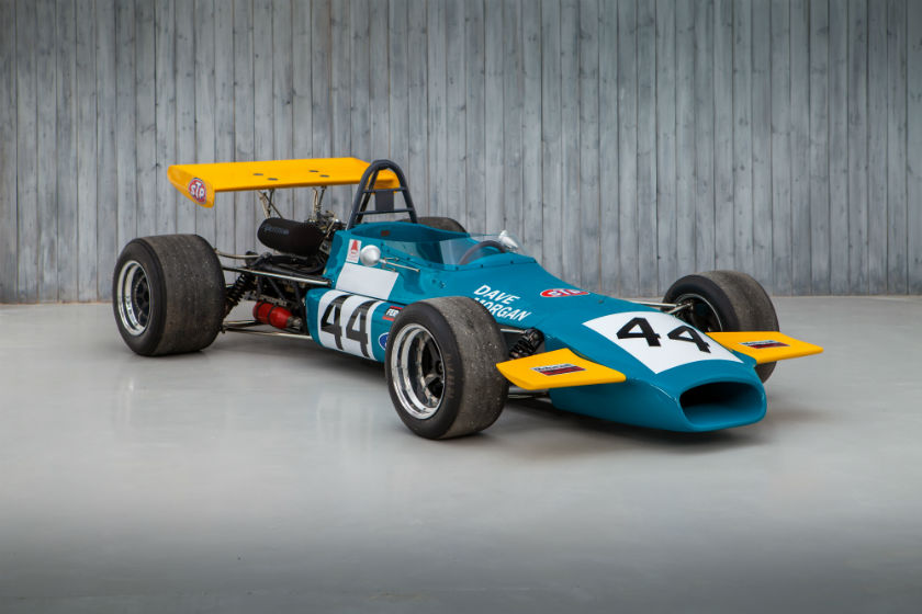 The Ex - Dave Morgan, 1972 European and British Formula 2 Race Winning 1971 Brabham BT35 F2 For Sale at William I'Anson Ltd