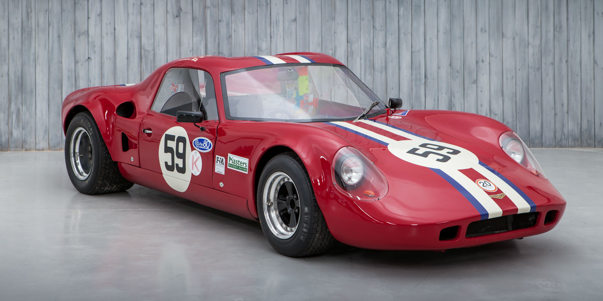 Ex Targa Florio 1968 Chevron B8 For Sale William I Anson Ltd