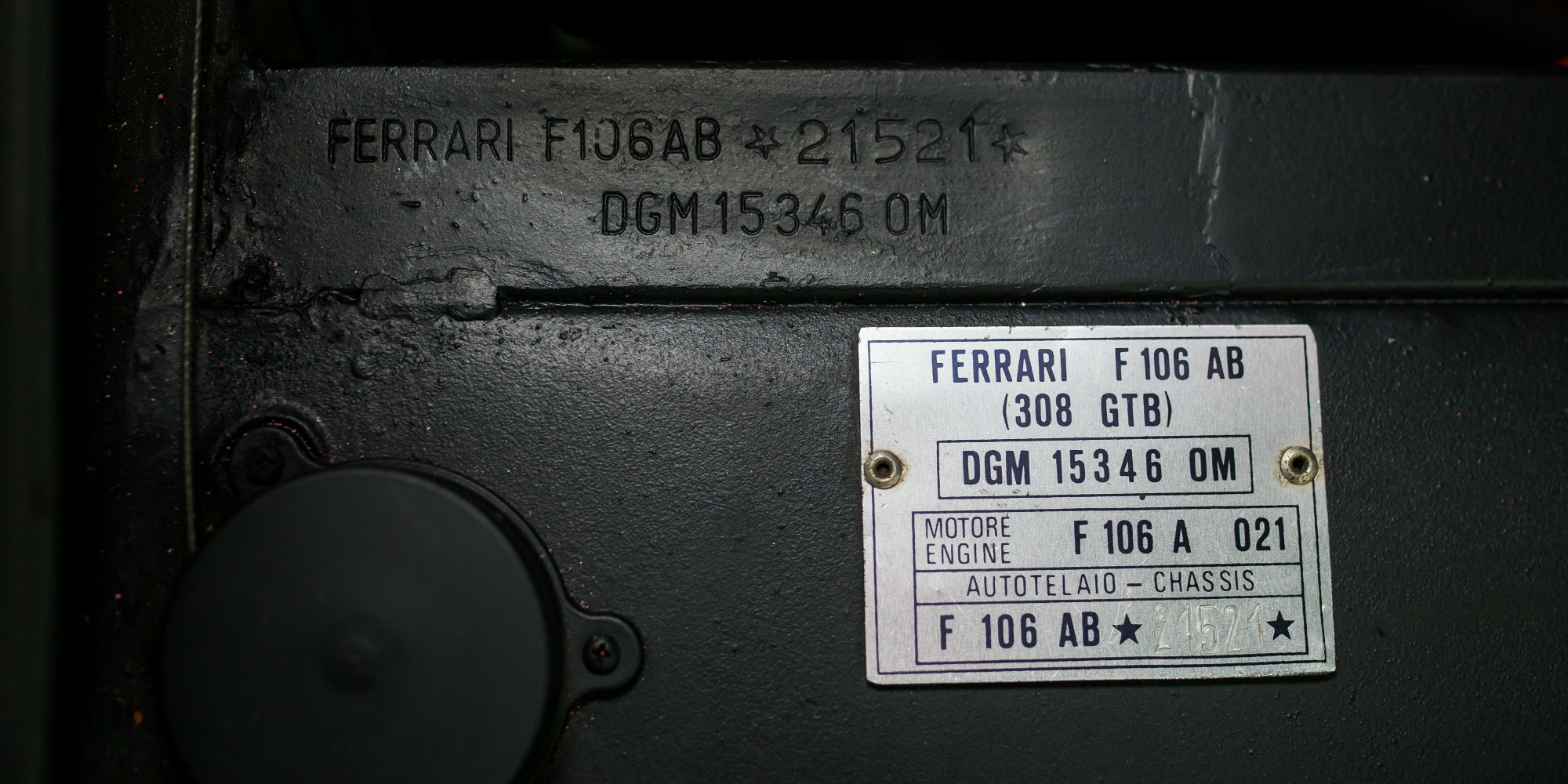 1977 Ferrari 308 GTB Dry Sump RHD