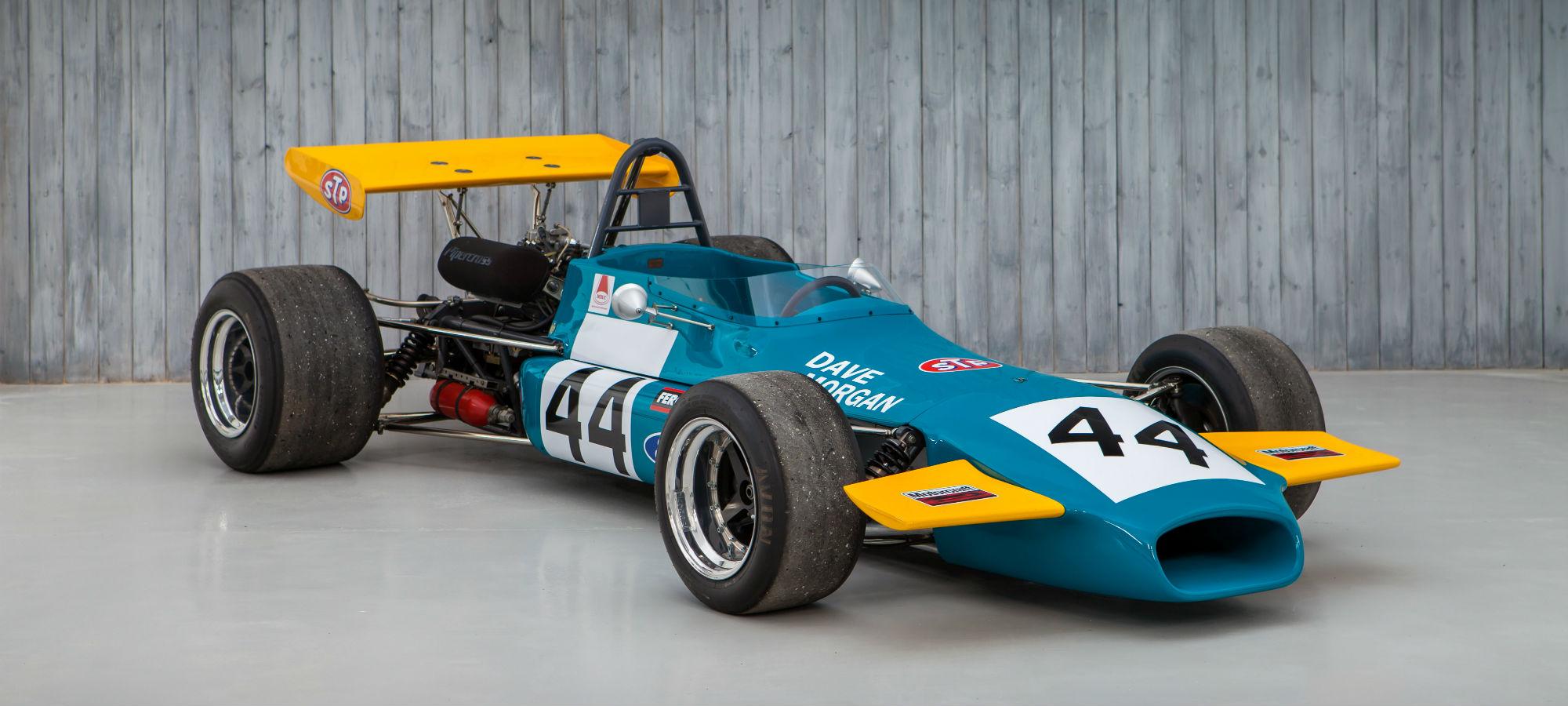 The Ex – Dave Morgan, 1972 European and British Formula 2 Race Winning 1971 Brabham BT35