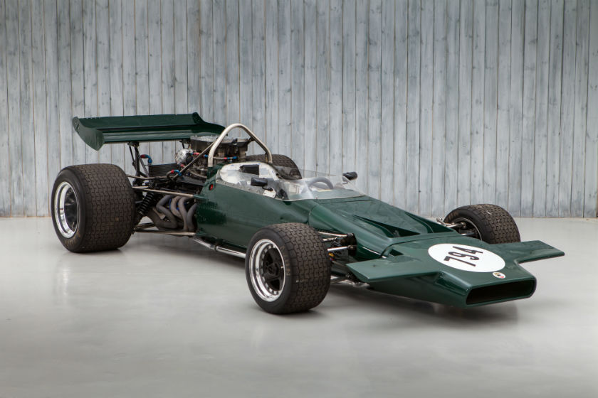 1971 McLaren M18 - Ex Ganley, Schenken, Jassaud, Lanfranchi, Trimmer, Luyendijk Sold by William I'Anson Ltd
