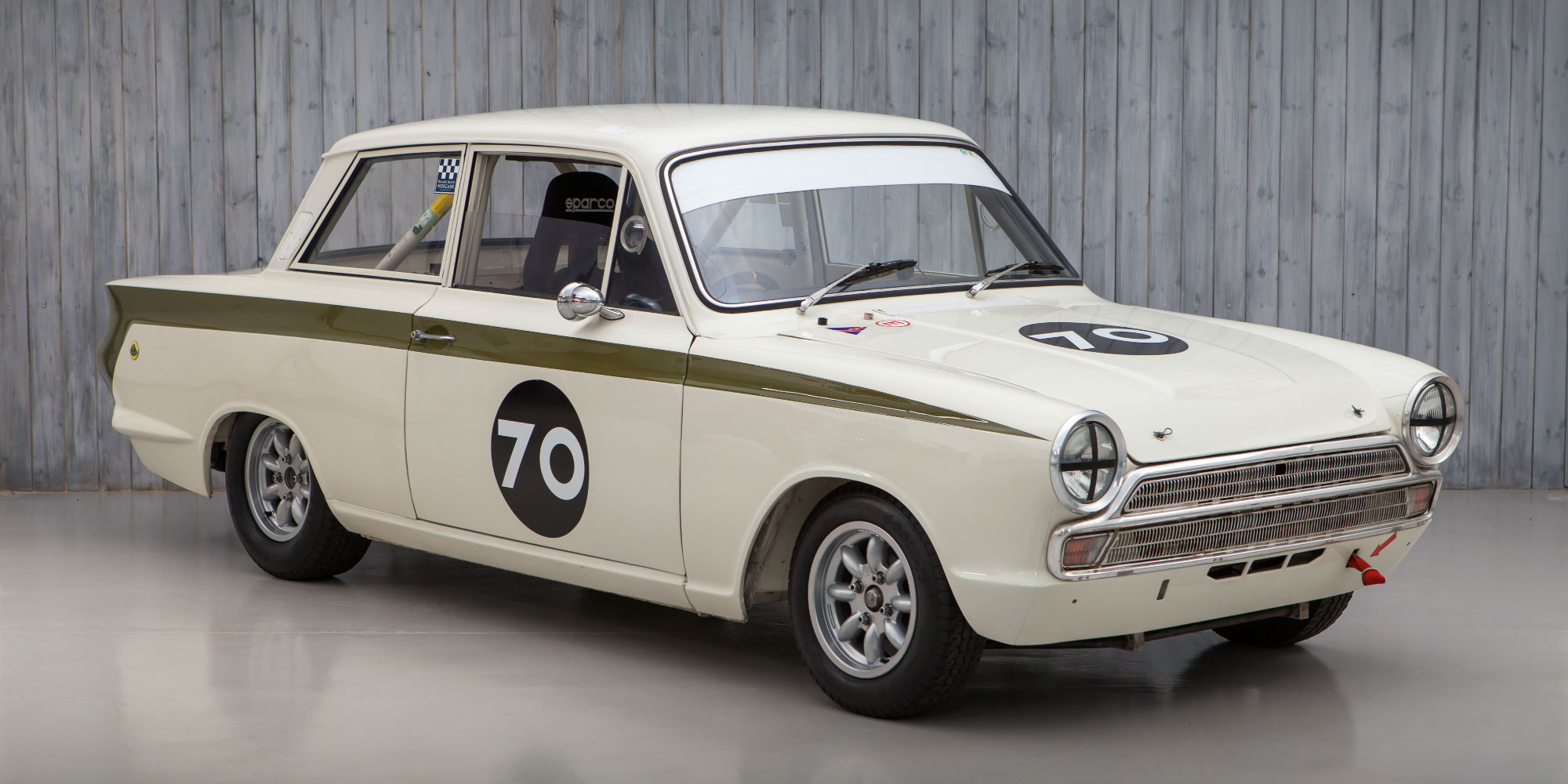 The Ex – Andy Wolfe/Rob Hall 1965 Lotus Cortina FIA