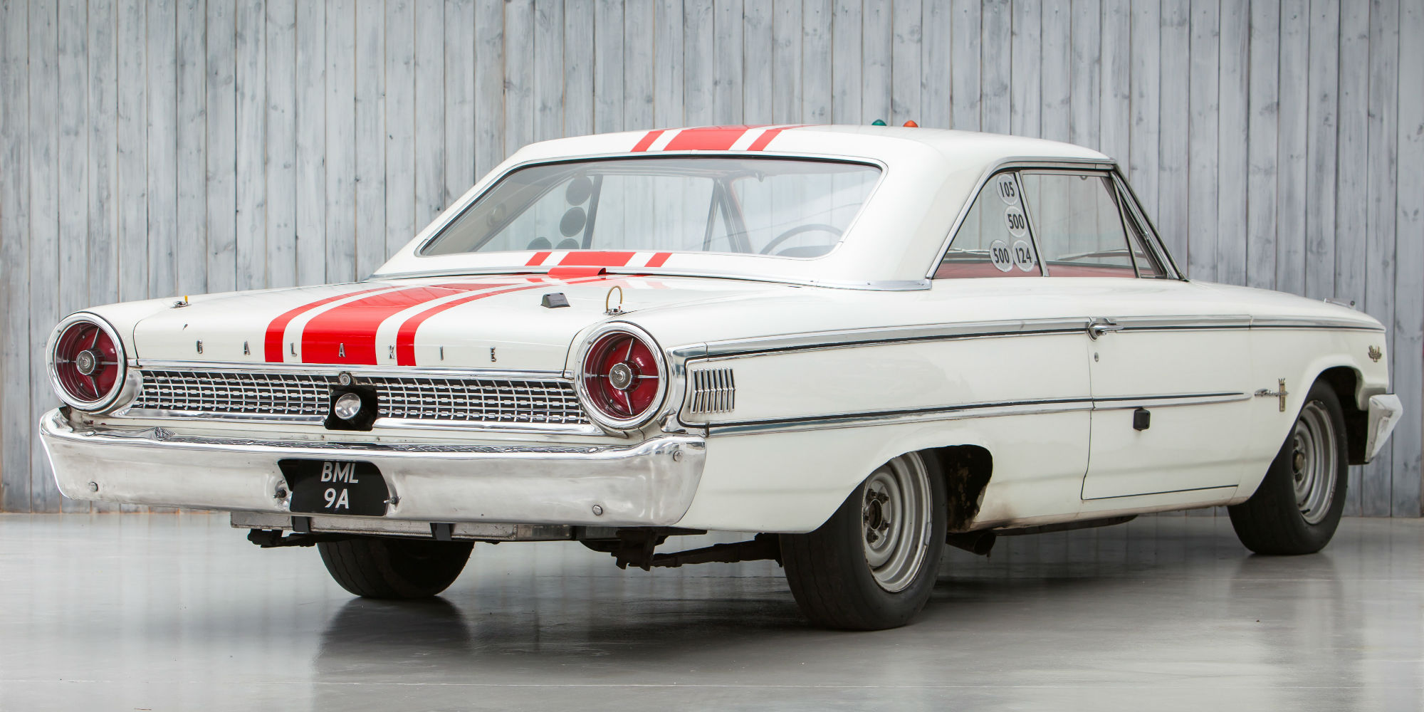 The Ex – Jack Sears, Willment Racing Team, British Saloon Car Champion 1963 Ford Galaxie 500 'R-Code' Lightweight
