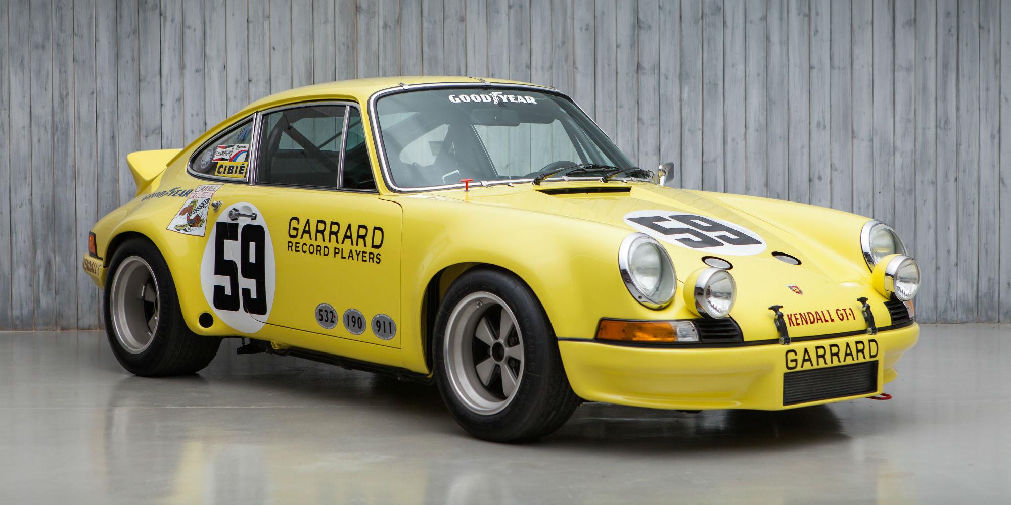 The Ex – Peter Gregg, Hurley Haywood, David Helmick 1973 Sebring 12 Hour Winning Porsche 911 2.8 RSR