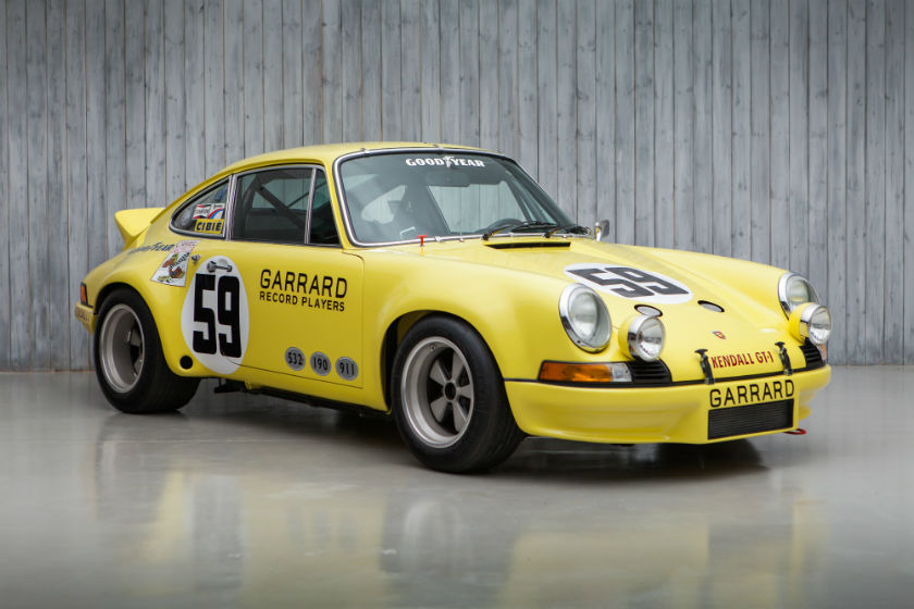 The Ex - Peter Gregg, Hurley Haywood, David Helmick 1973 Sebring 12 Hour Winning Porsche 911 2.8 RSR For Sale at William I'Anson Ltd