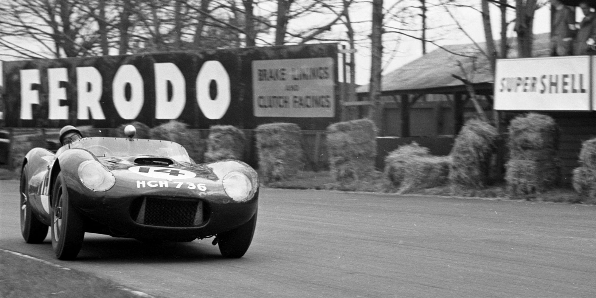 The Ex – Jim Clark, Border Reivers, Le Mans 1955 Lister Jaguar Flat Iron