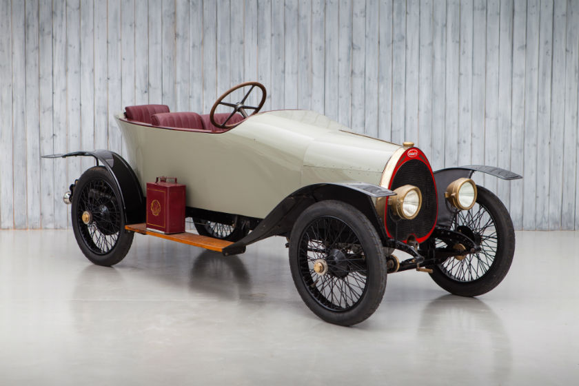 1914 Bugatti Type 15 Eight Valve For Sale at William I'Anson Ltd