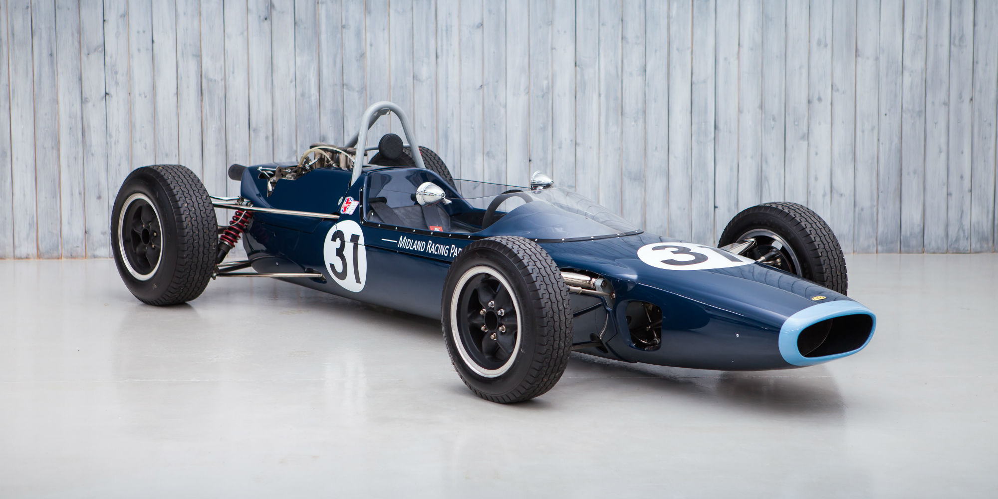 The Ex – Eric Offenstadt 1965 Lola T60 Formula 2