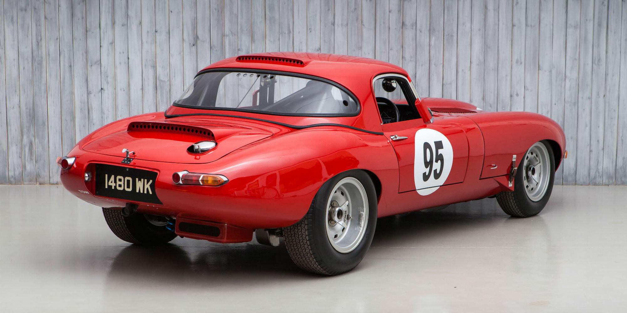 1962 Jaguar E-Type to FIA Semi-Lightweight Specification