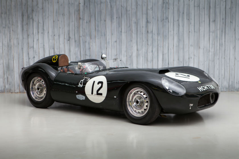 The Ex - Jim Clark, Border Reivers, Le Mans 1955 Lister Jaguar Flat Iron For Sale at William I'Anson Ltd