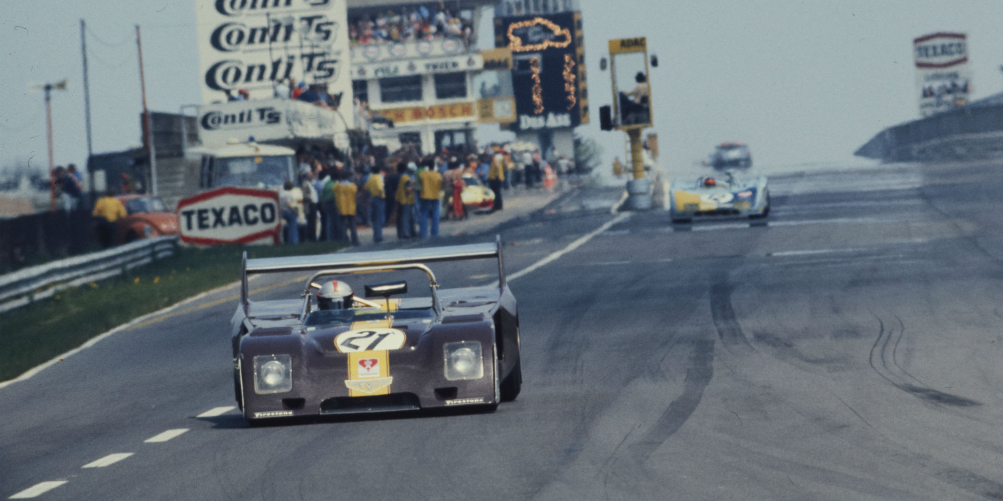 The Ex – Works, Peter Gethin, Brian Redman and John Watson 1974 Chevron B26 – Hart 420R 'Chocolate Drop'