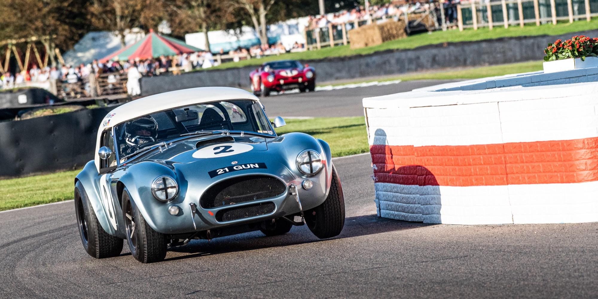 The 2019 Goodwood Revival RAC TT Winning 1965 AC Cobra Mk1 289