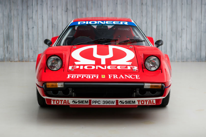 1981 Ferrari 308 GTB to FIA Group 4 Specification For Sale at William I'Anson Ltd